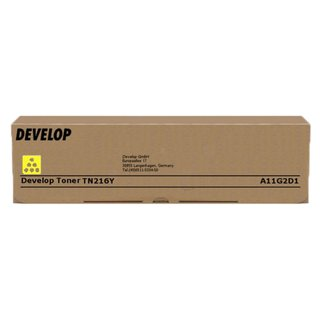 Original Toner Develop A11G2D1 / TN216Y Yellow