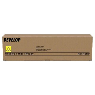 Original Toner Develop A0TM2D0 / TN613Y Yellow