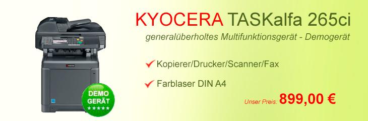 Kyocera TASKalfa 265ci